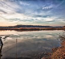 Sunet over the Nanjemoy River by jandgcc