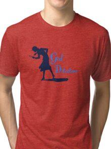 Girl Detective (dark on light) Tri-blend T-Shirt