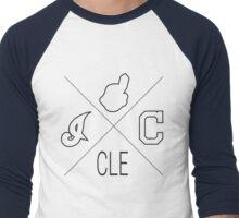 Cleveland Indians Fan Tshirt Men's Baseball ¾ T-Shirt
