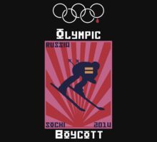 Boycott 2014 Russian Olympics #2 by Samuel Sheats