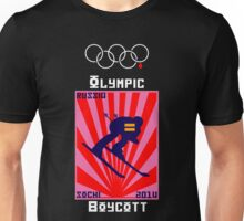 Boycott 2014 Russian Olympics #2 Unisex T-Shirt