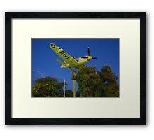 Griffith Fairey Firefly (2010) Framed Print