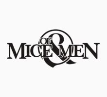 Of Mice & Men logo (BLACK) by MinecraftERR0R