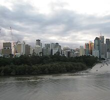 Brisbane CBD Skyline (2011) by ozscottgeorge
