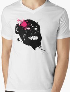 Smile to the world and it smiles back at you  Mens V-Neck T-Shirt
