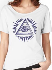 Illuminati, The All Seeing Eye Women's Relaxed Fit T-Shirt