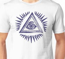 Illuminati, The All Seeing Eye Unisex T-Shirt