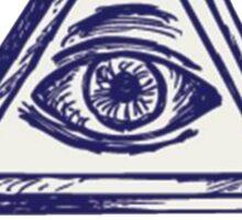 Illuminati, The All Seeing Eye Sticker