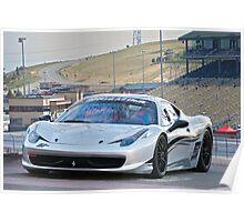 Ferrari 458 Challenge Poster