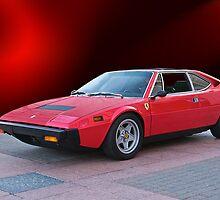 1975 Ferrari Dino 308GT4 IV by DaveKoontz