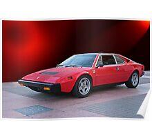 1975 Ferrari Dino 308GT4 IV Poster
