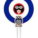 Mod Girl - Modette by drawgood