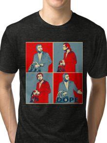 Confused Travolta Meme: Hope  Tri-blend T-Shirt