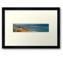 Port Noarlunga Jetty  Framed Print