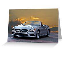 2013 Mercedes GL 550 'Designo' Greeting Card