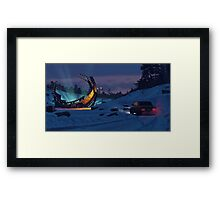 December Salvage Framed Print