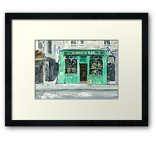 Bennets Bar Framed Print