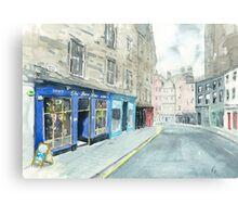 Bow Bar Canvas Print