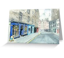 Bow Bar Greeting Card