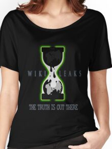 WikiLeaks - The Truth is out There Women's Relaxed Fit T-Shirt