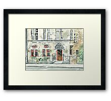 Cloisters Bar Framed Print