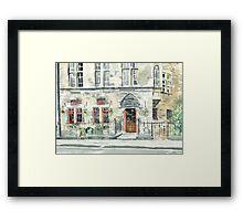 Cloisters Bar Framed Print