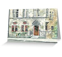 Cloisters Bar Greeting Card