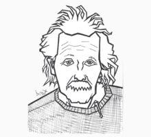 Albert Einstein  by Brett Gilbert