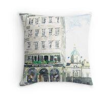 Deacon Brodie's Tavern Throw Pillow