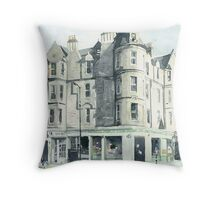 Peter Green's, Marchmont Road Throw Pillow