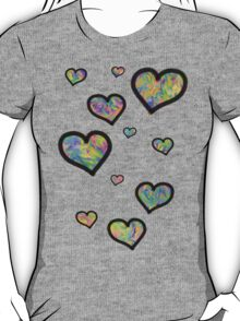 Colourful Hearts T-Shirt