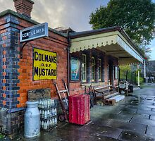 Olde Station by Ian Mitchell
