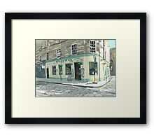 Teuchtars, William Street Framed Print