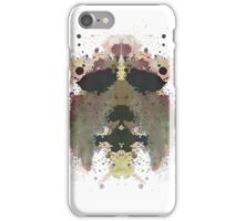 Michael Myers Halloween Mask Inkblot iPhone Case/Skin