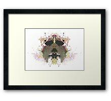 Michael Myers Halloween Mask Inkblot Framed Print