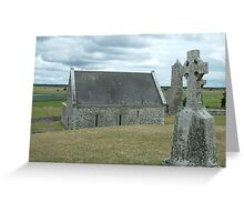 Ancient Ireland, cross Greeting Card