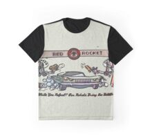 Red Rocket Graphic T-Shirt