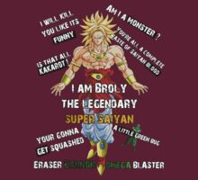 Broly the legendary super saiyan by Ali Gokalp