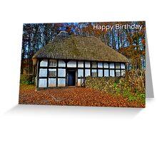 Aberonwydd Farmhouse Birthday Card Greeting Card