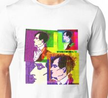 LORD BYRON, ENGLISH POET, HELLRAISER AND MADMAN, COLLAGE Unisex T-Shirt