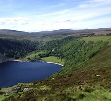 Mountains and lakes of Wicklow, Ireland by Maire Morrissey-Cummins