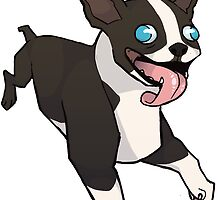 Boston Terrier by Formaldepants