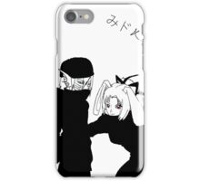 black and white2 iPhone Case/Skin