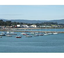 Boats in Harbour, Wicklow, Ireland Photographic Print
