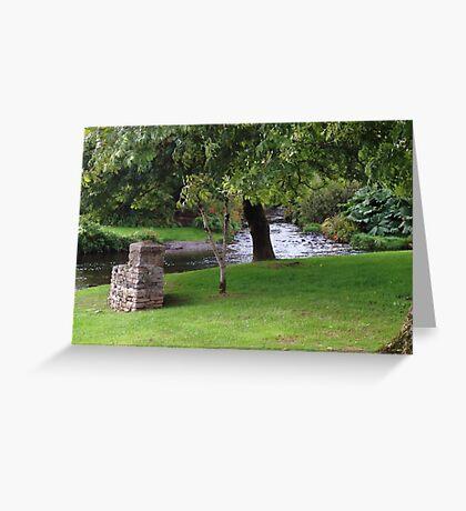 Anascaul, Co. Kerry, Ireland stream/brook Greeting Card