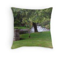 Anascaul, Co. Kerry, Ireland stream/brook Throw Pillow