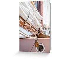 Sailing (III) Greeting Card