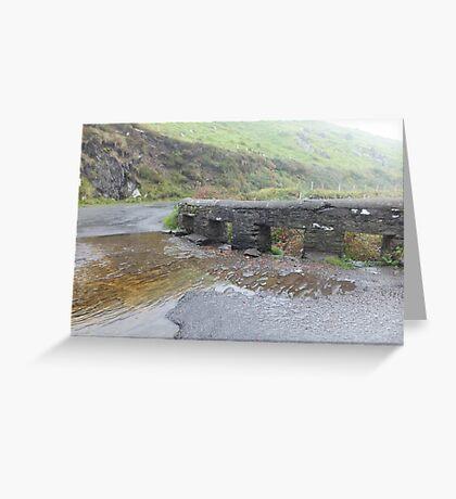Kerry, Ireland, Bridge and river  Greeting Card