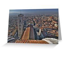 Florence Cathedral - Cathedral Square Greeting Card