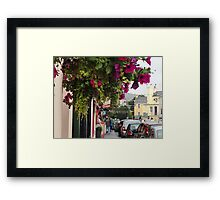 Kenmare Town, Kerry, Ireland Framed Print
